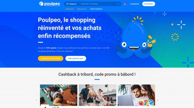 Cashback-réductions-codes-promo-Poulpeo