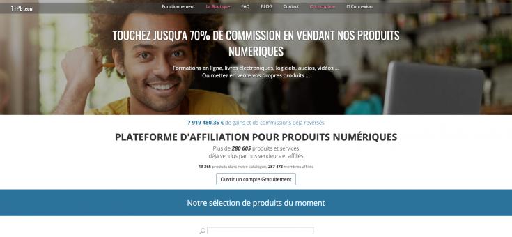 Plateforme-d-affiliation-pour-produits-numériques-et-système-de-paiement-sur-Internet-1TPE-com