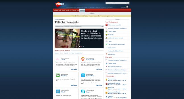 Téléchargement-de-logiciels-professionnels-ZDNet